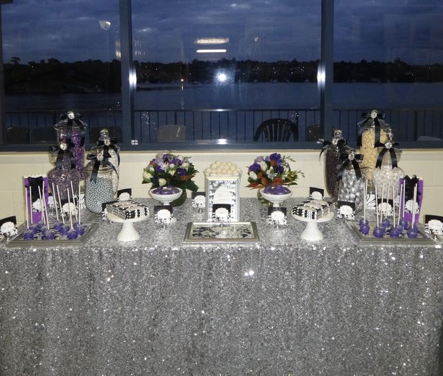 Beautiful White And Silver Party Ideas