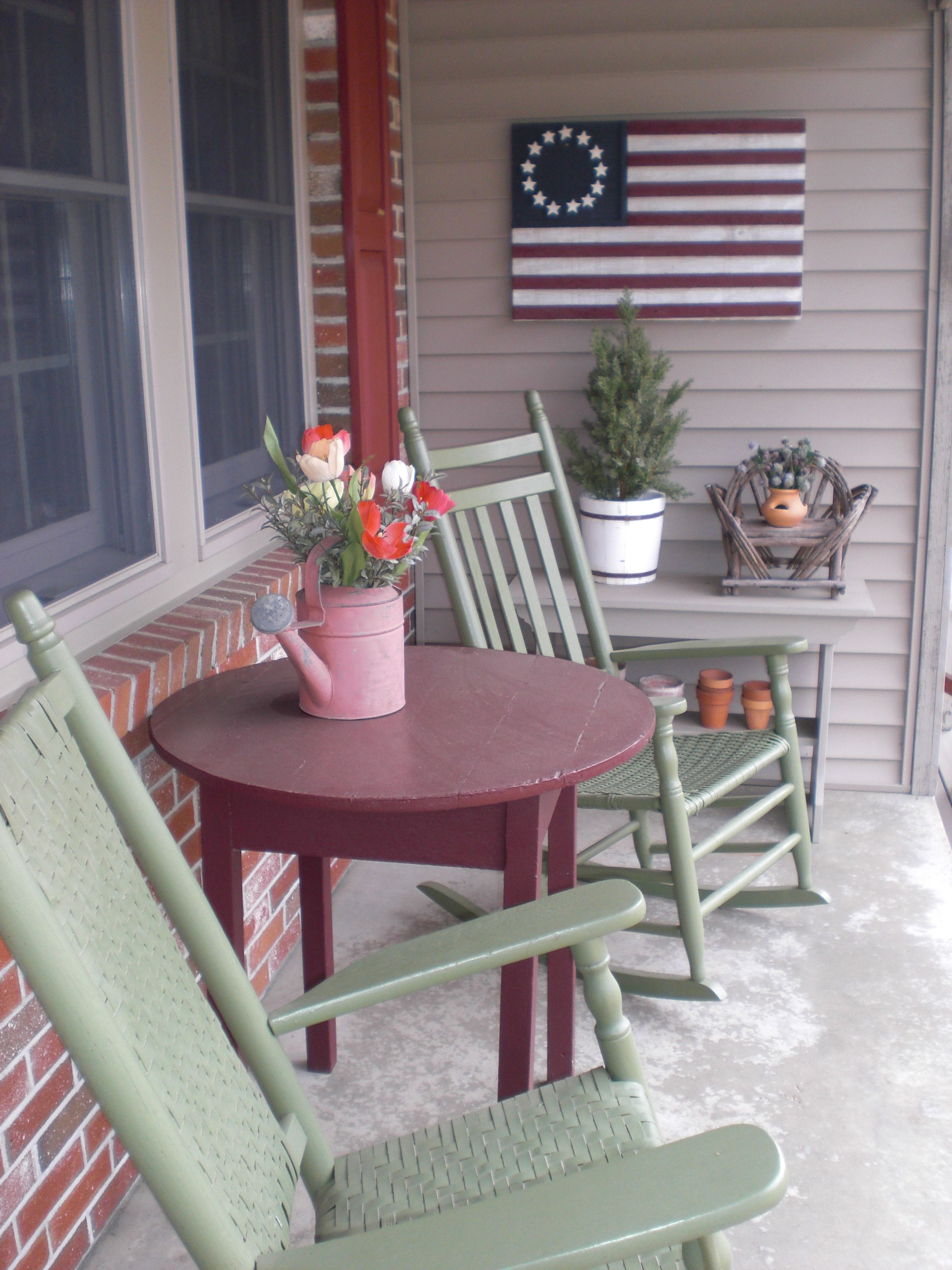 Incredible Like The Flag Bench Table And Sprinkle Can In 2019 Patio Short Links Chair Design For Home Short Linksinfo