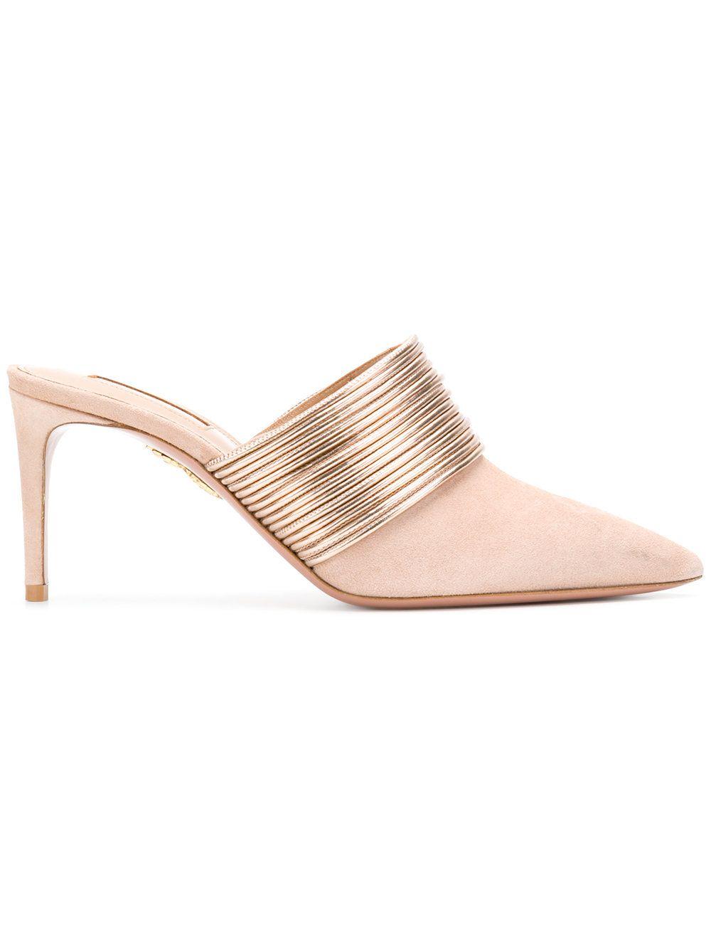 Rendez Vous sandals - Pink & Purple Aquazzura LU4UNhjvG