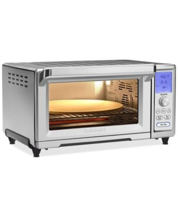 Cuisinart Tob 260n Chef S Convection Toaster Oven Broiler Reviews Small Appliances Kitchen Macy S Stainless Steel Oven