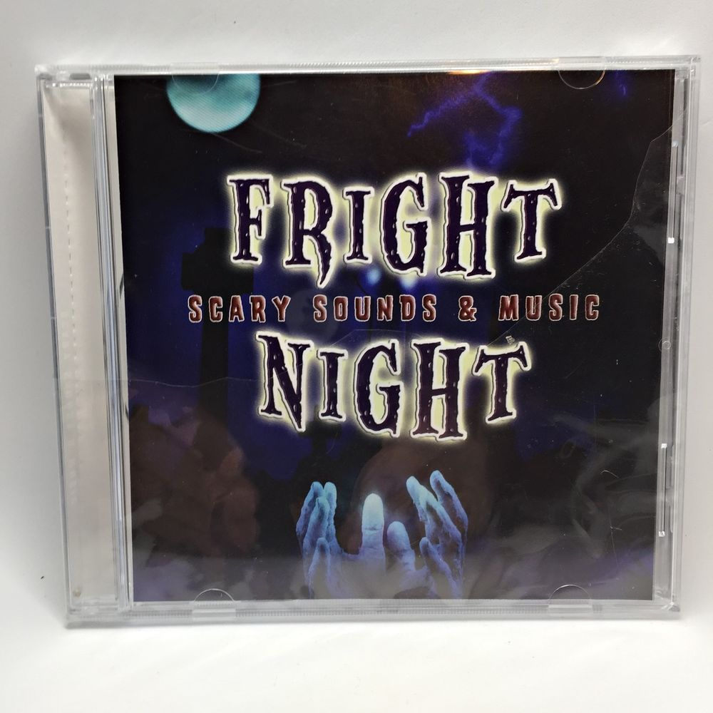 Fright Night Scary Sounds and Music CD Halloween Party Effects