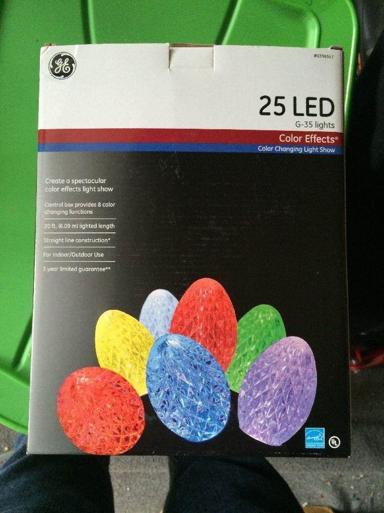 Ge Led Christmas Lights.Pin On Christmas Display Items