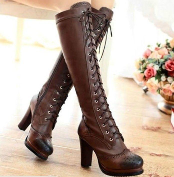Bram Stocker-Gorgeous Amazing Elegant Confortable Boots- Worldwide Free Shipping