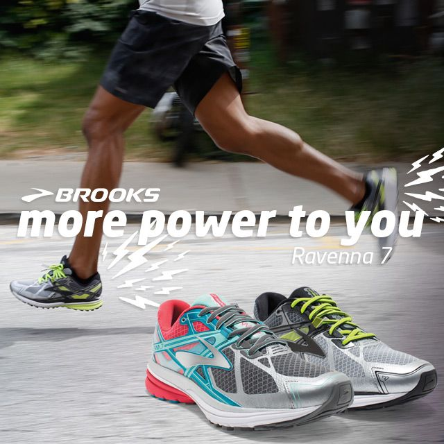 The Brooks Ravenna 7. More power to you.