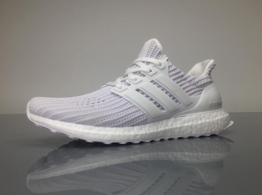 4f37c2ea8 Adidas Ultra Boost 4.0 BB6168 White Grey Real Boost for Sale 02 ...