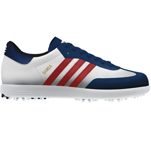 hot sale online b9251 33a3a Adidas Samba Mens Golf Shoes - Limited Edition US Open
