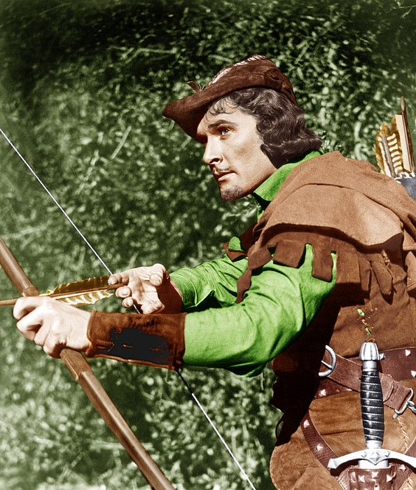 The Adventures Of Robin Hood Errol By Everett In 2021 Robin Hood Errol Robin
