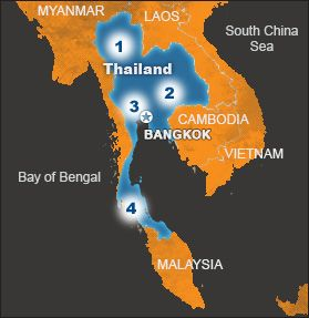 Located in southeast asia the kingdom of thailand has rolling hills world vision canada gumiabroncs Images