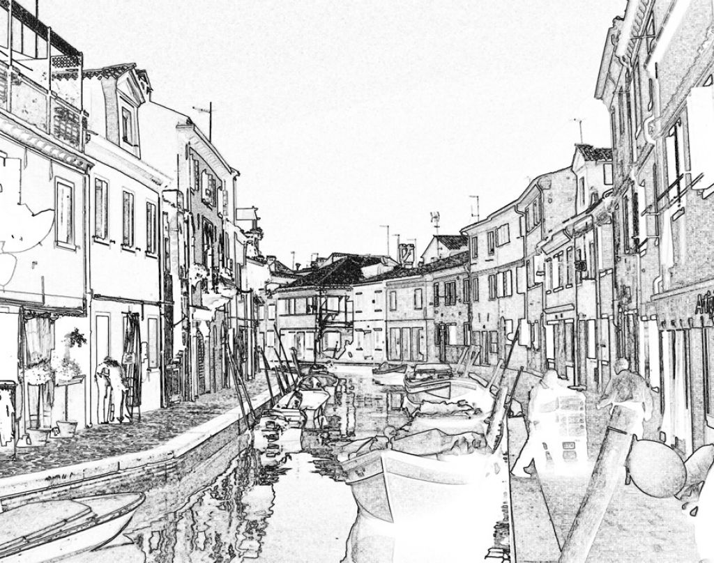 The River City Venice Coloring