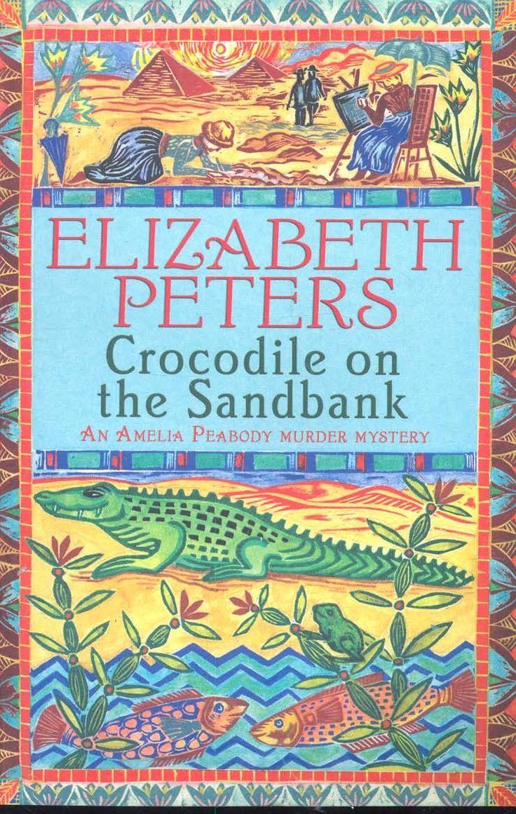 Elizabeth peters crocodile on the sandbank