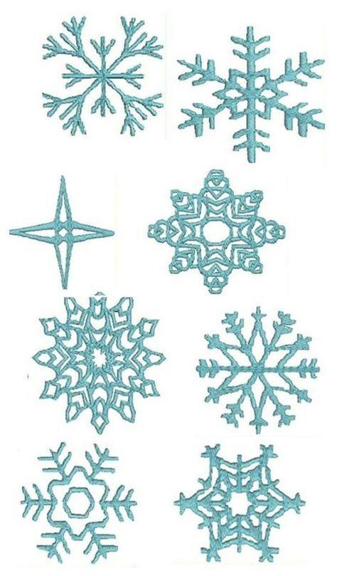 Frozen Snowflake Patterns Templates cakepins cake techniques - snowflake template