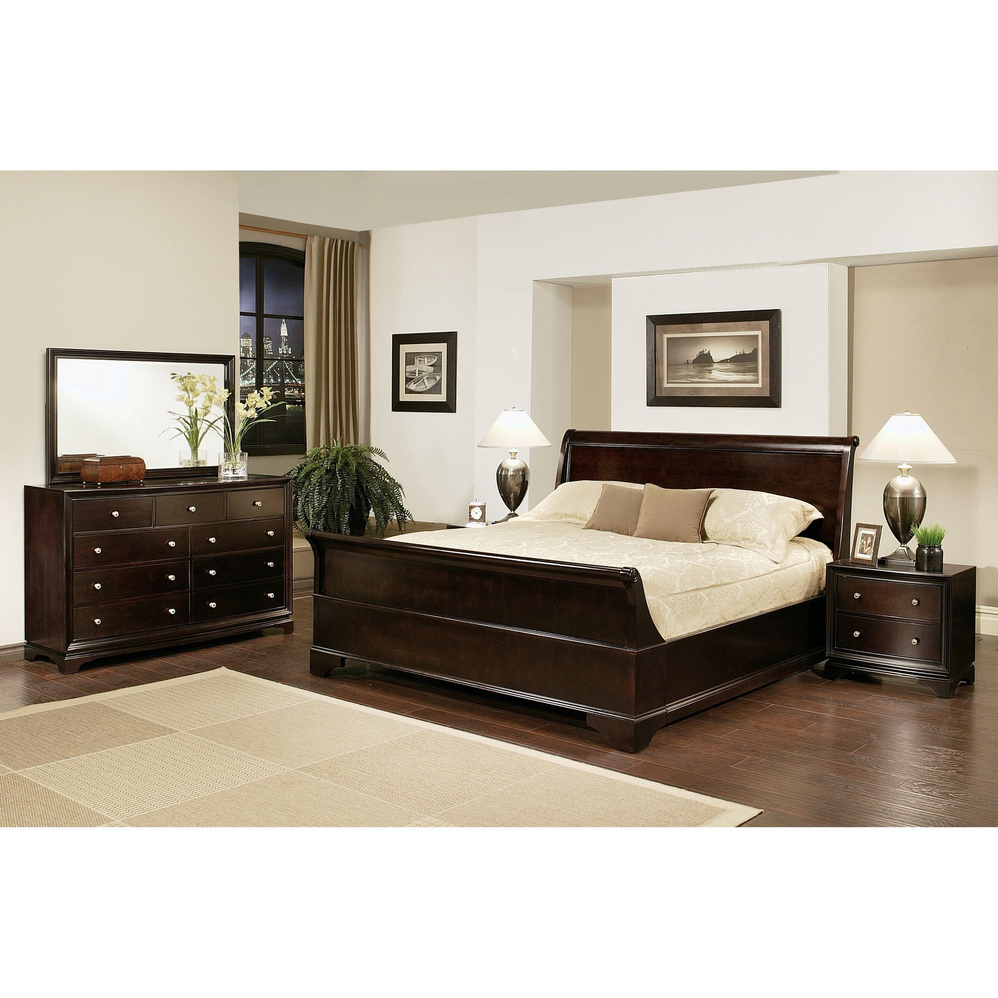 Master Bedroom Kingston enrich your home decor with this kingston king-size sleigh bedroom