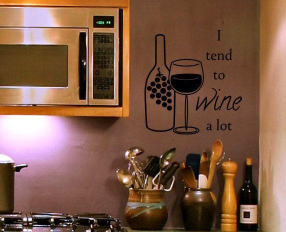 wine is sooooo good for you! | wine theme kitchen, pig