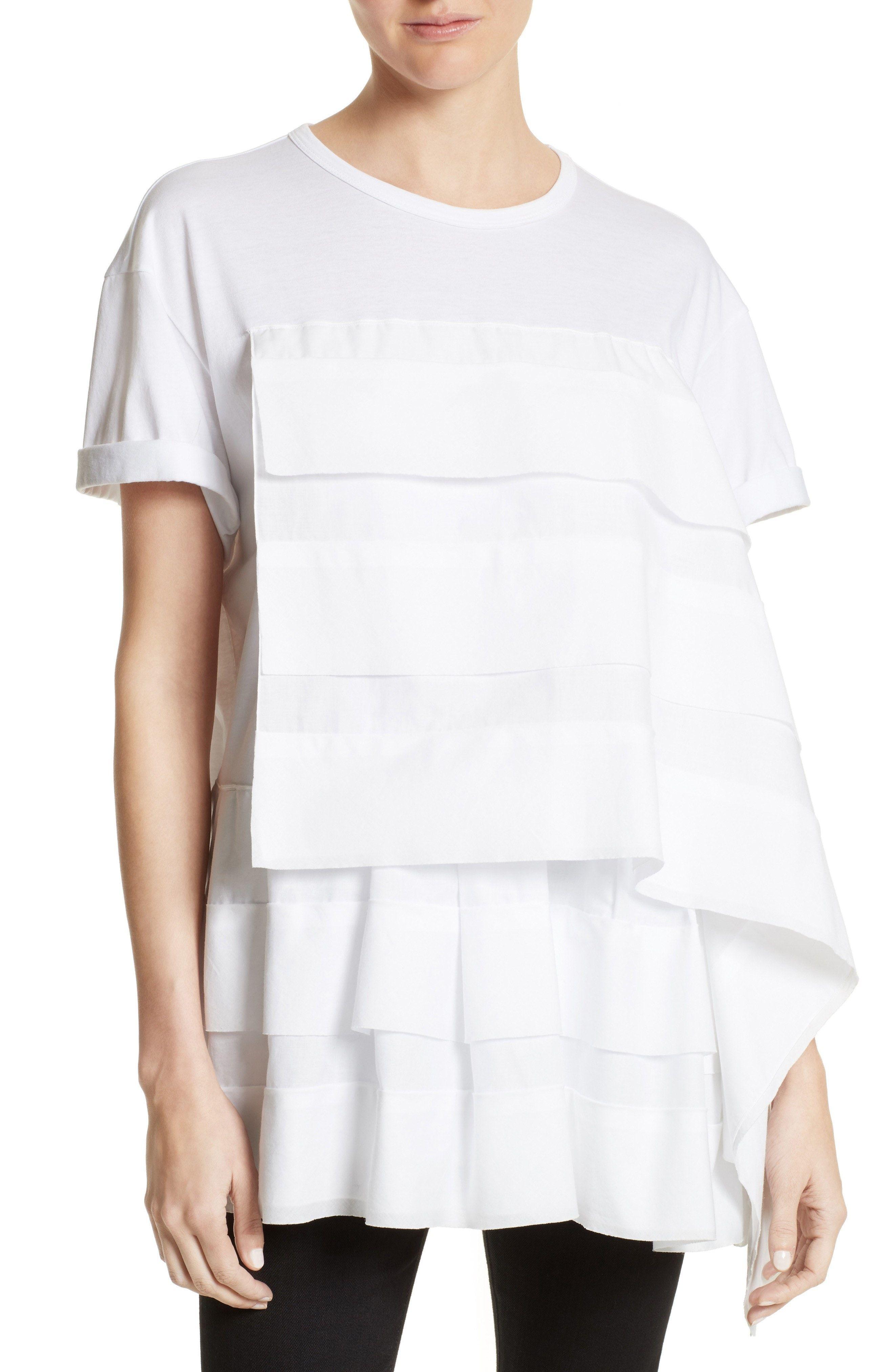N°21 Ruffled Neck Pullover N°21 Classic Sale Online XKPWdz