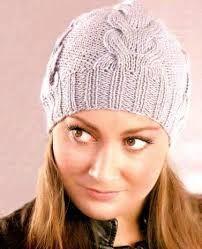 Картинки по запросу вязание шапок спицами схемы | Шапка ...