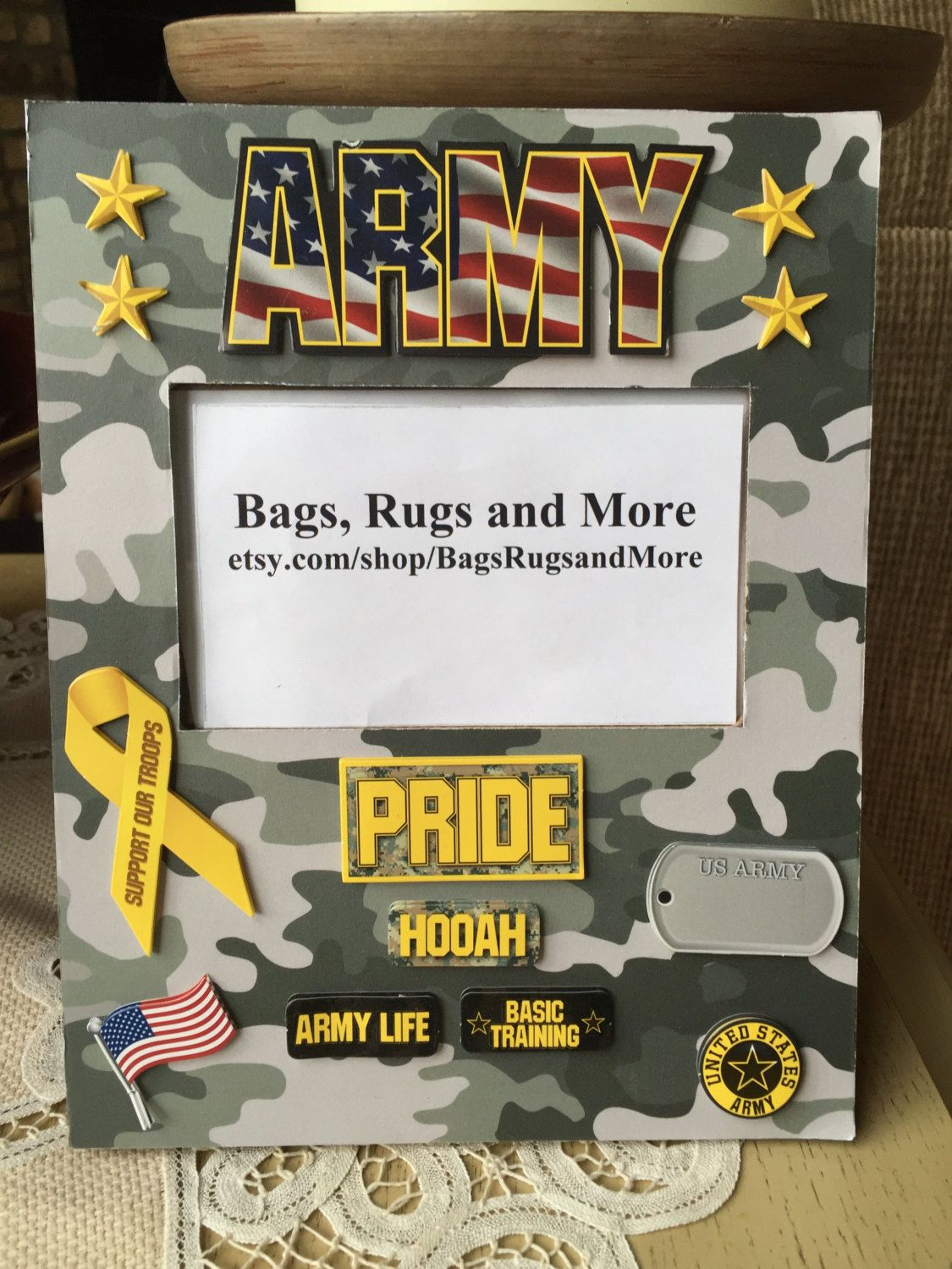 Army picture frame us army army pride army life hooah army picture frame us army army pride army life hooah patriotic jeuxipadfo Images