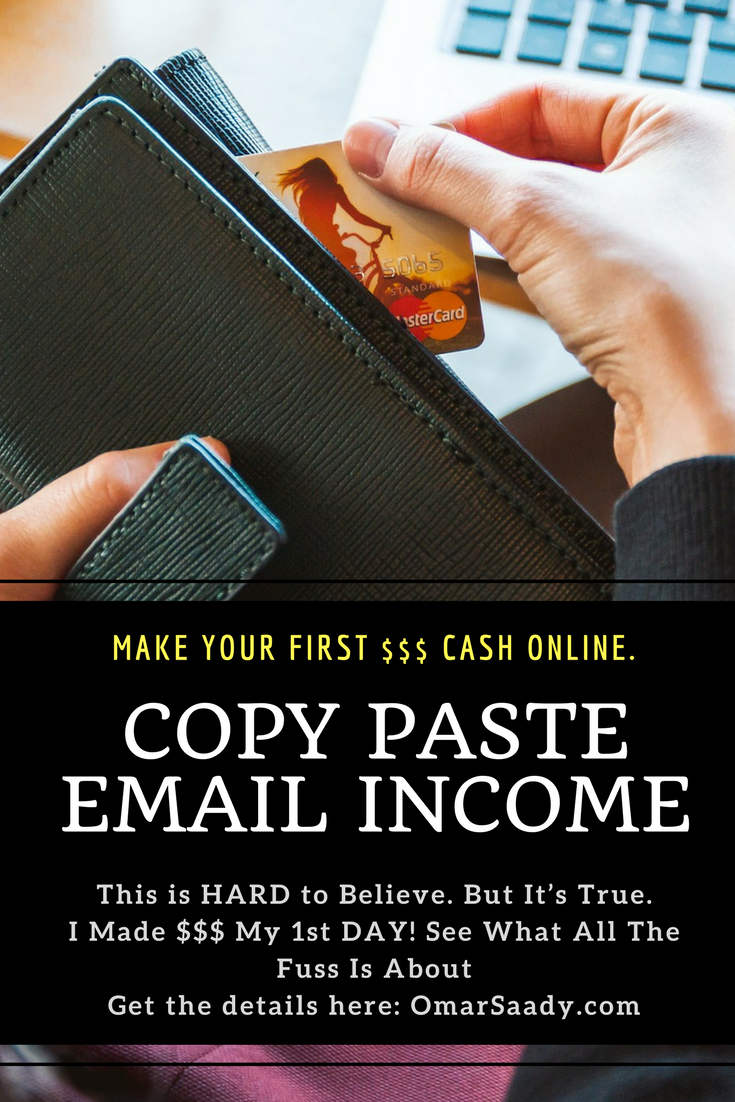 Copy Paste Email Income | Making Money Online | Internet