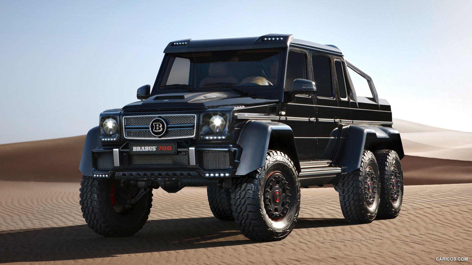 2013 Brabus B63s 700 6x6 Based On Mercedes Benz G63 Amg 6x6