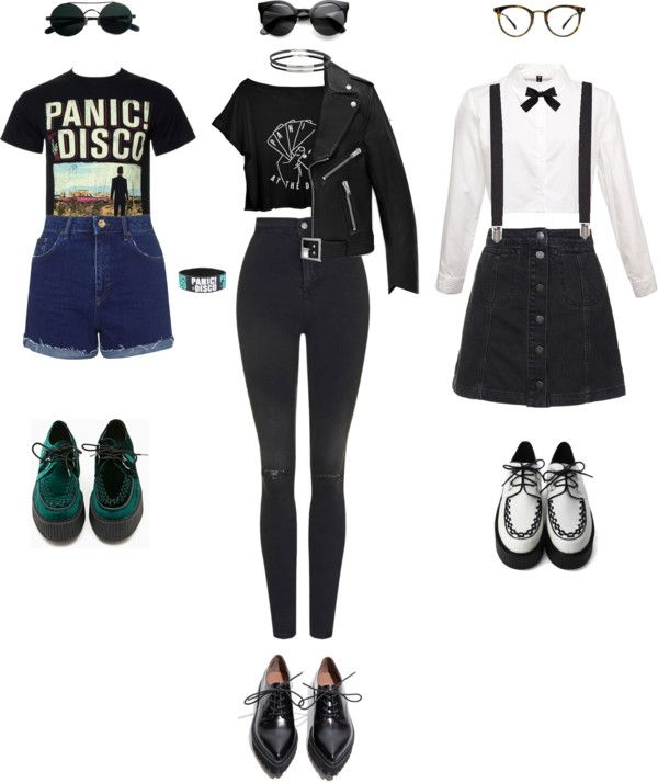 i like the one on the left looks pinterest emo clothes and discos