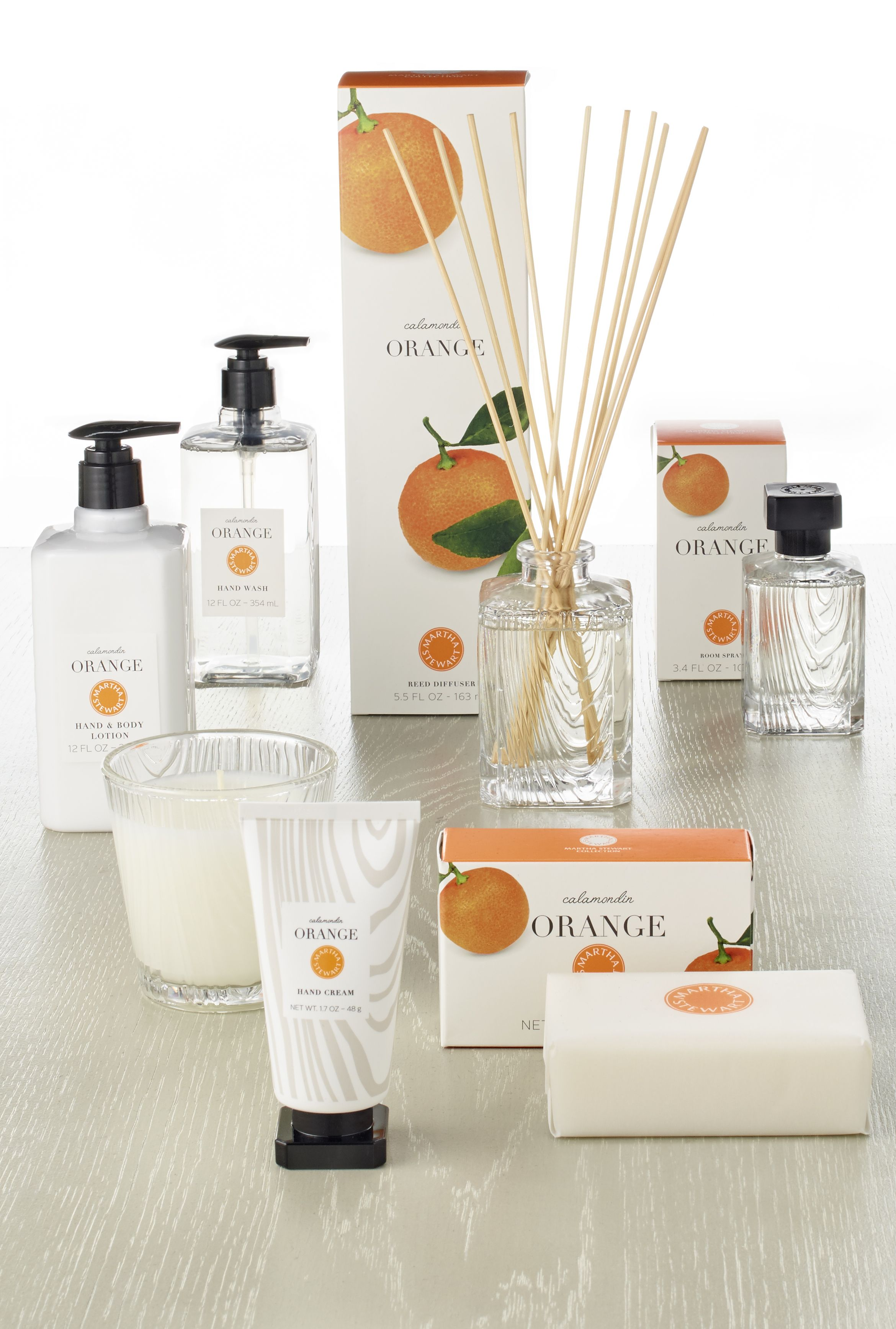 With 6 scents available in 2 gift sets, Martha\'s home fragrance line ...