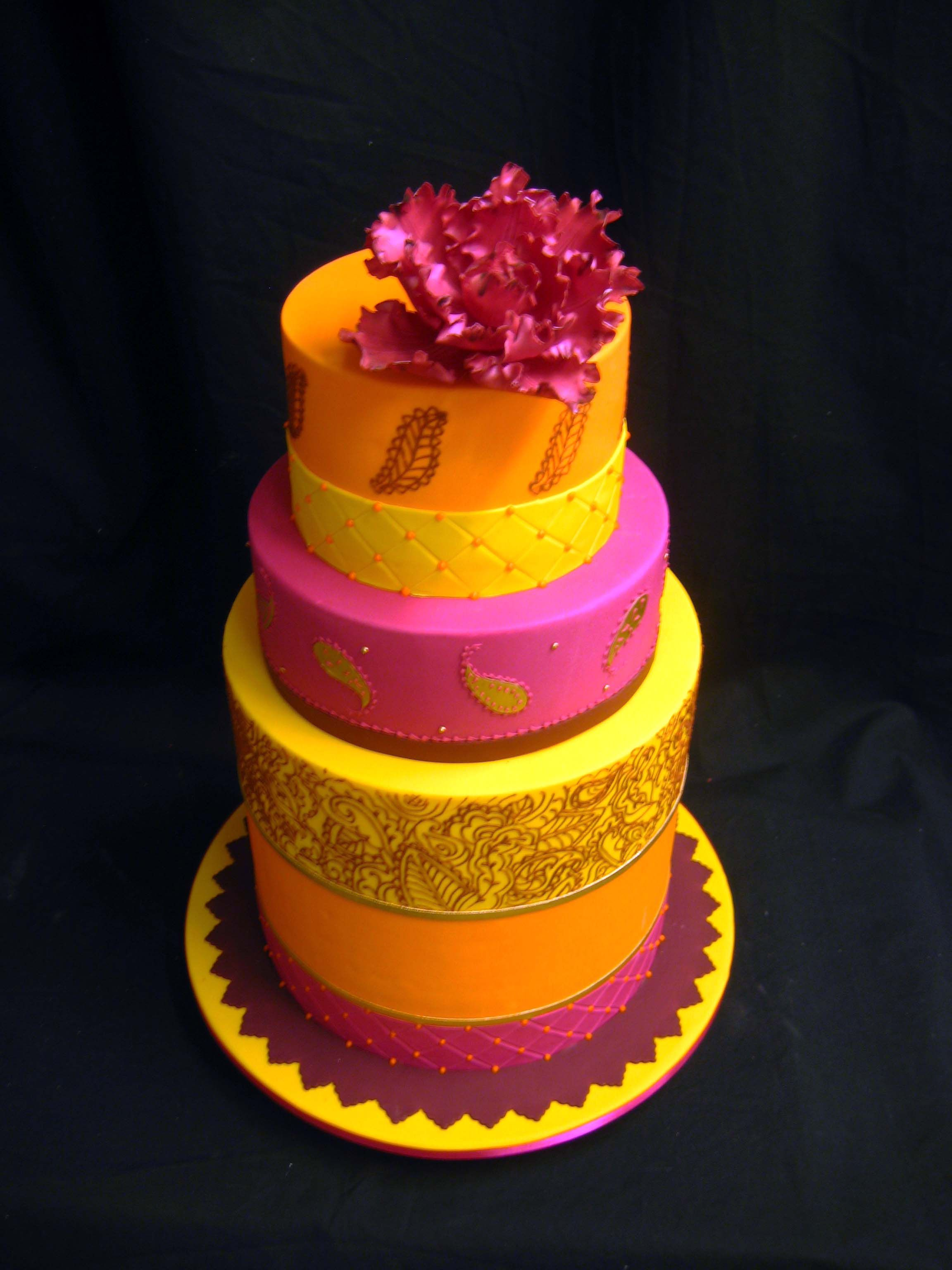 bollywood taart Indian Bollywood Cake | Taarten | Pinterest   Oranje roze, Taarten  bollywood taart