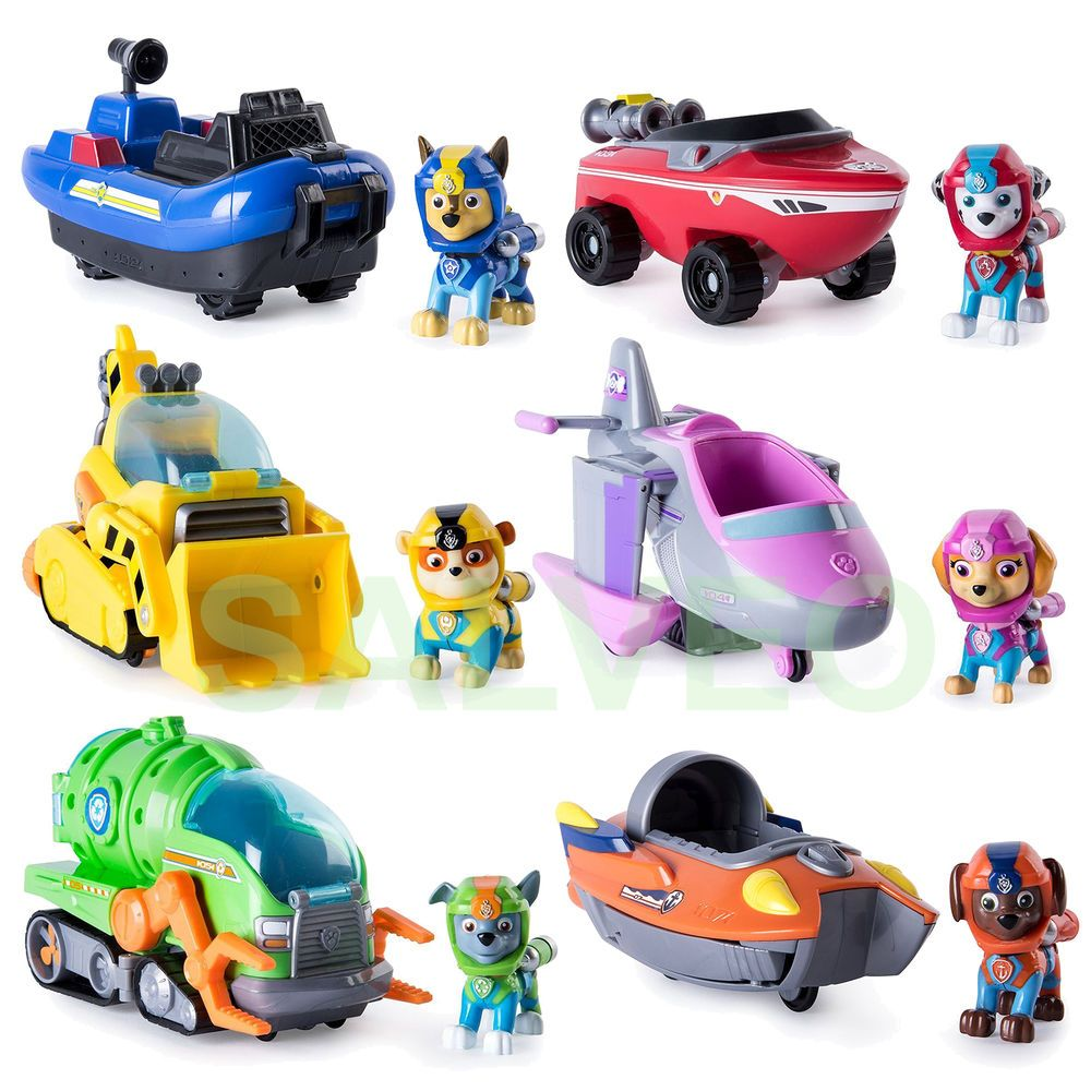 Quatang Gallery- Paw Patrol Sea Patrol Transforming Vehicle Pup Kids Childrens Toy Toys Games Tv Movie Character Toys Paw Patrol Toys Childrens Toy Creative Baby Toys