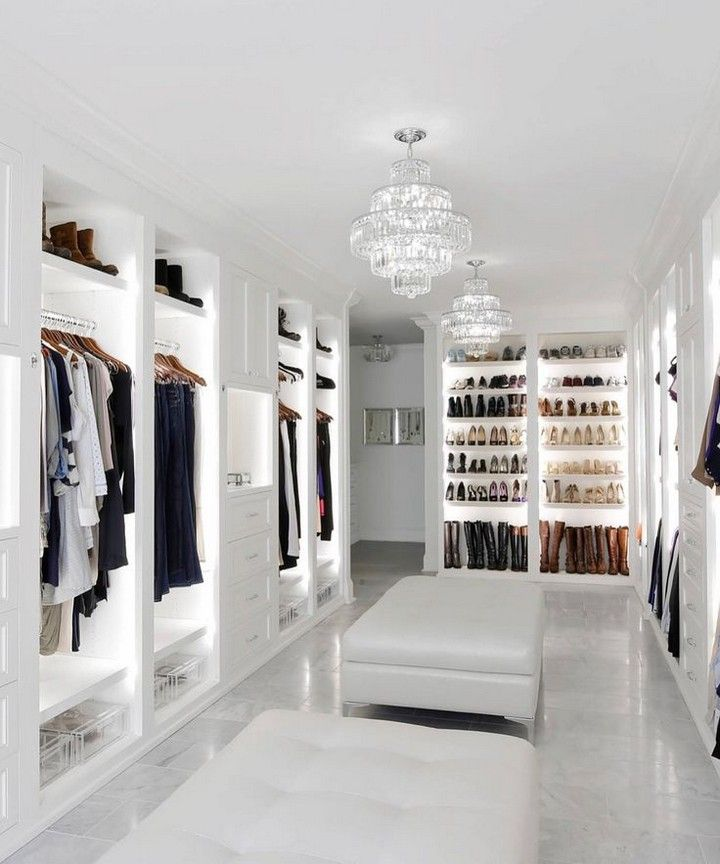 10 Amazing Walk-In Closets For Your Home Wish List