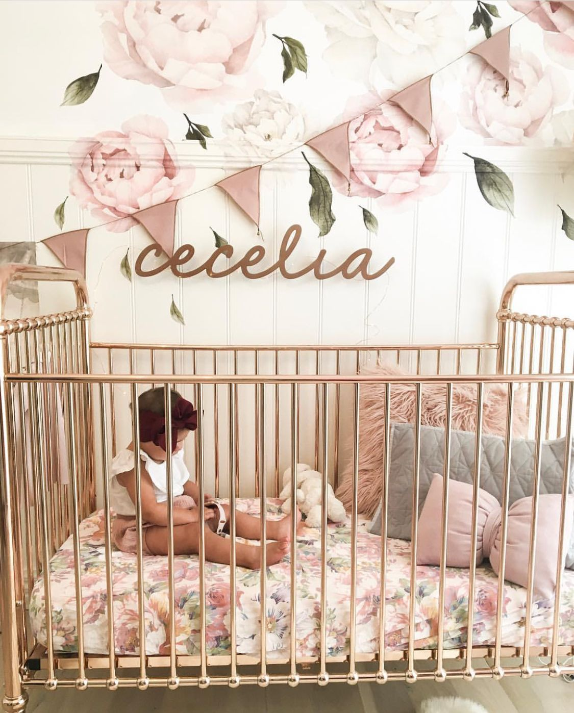 Nursery INSPO! Tilly & Otto cot sheets! (With images
