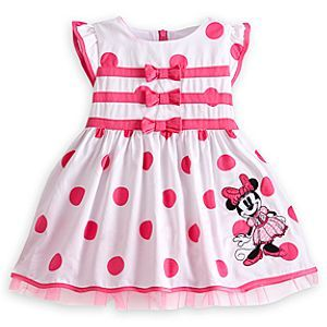 547b98e3a Gifts for the New Baby Girl: Minnie Mouse Woven Dress for Baby @ Disney  Store