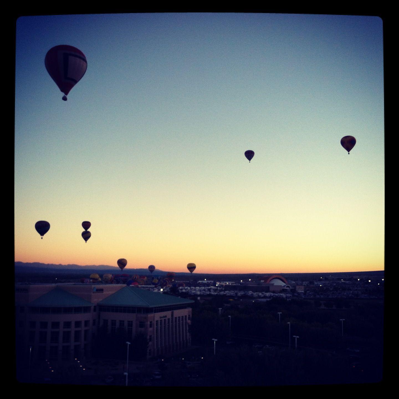International Hot Air Balloon Fiesta in Albuquerque, NM