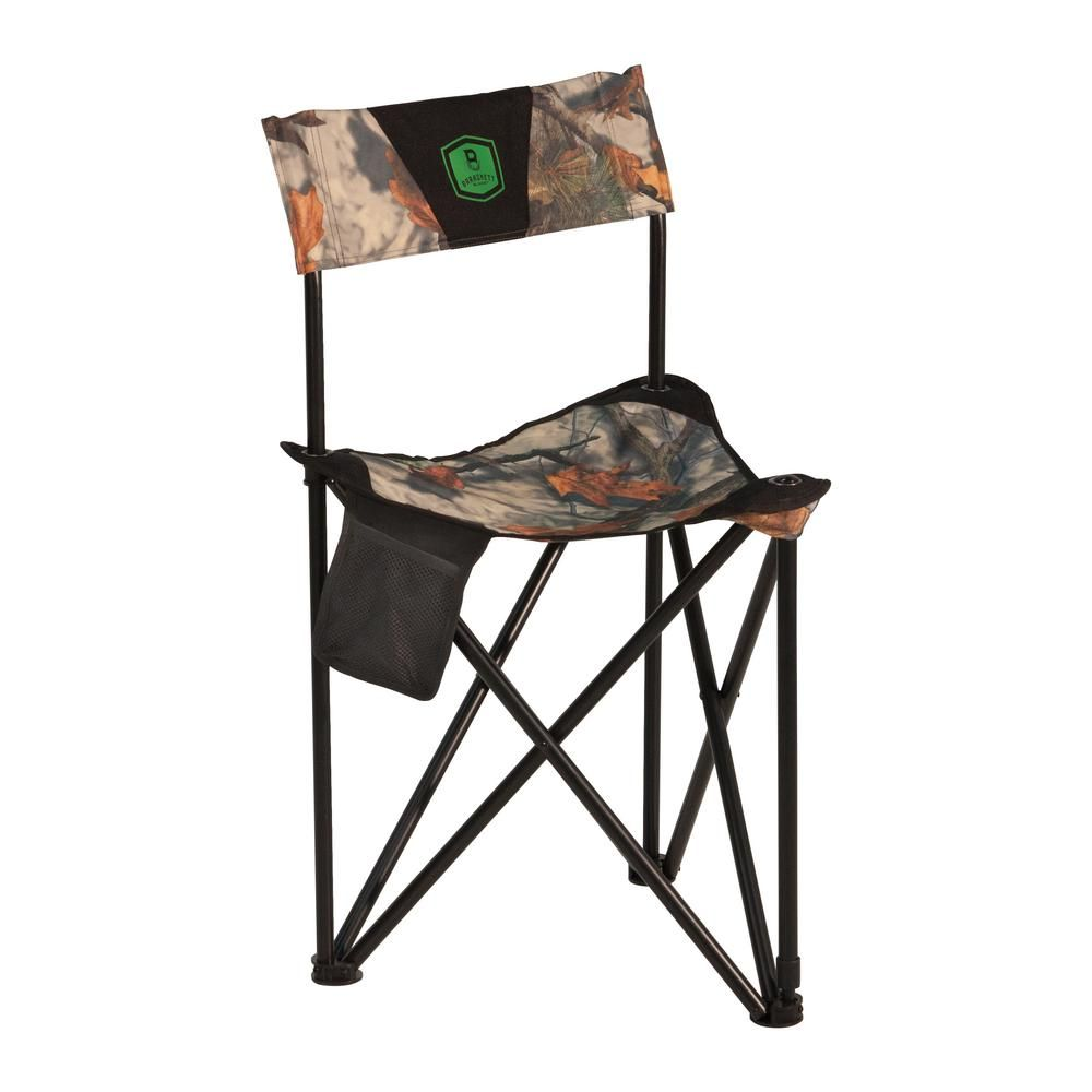 Barronett Blinds Tripod Xl Folding Hunting Chair In Bloodtrail Camo Bc101 The Home Depot Hunting Chair Hunting Blinds Duck Hunting Blinds