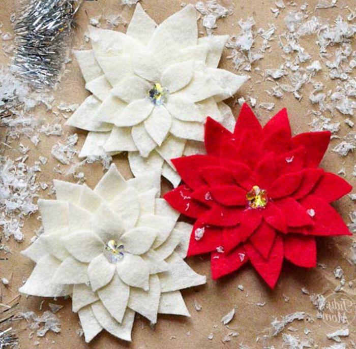 como hacer adornos de navidad decoracin con capas de nieve - Como Hacer Adornos De Navidad