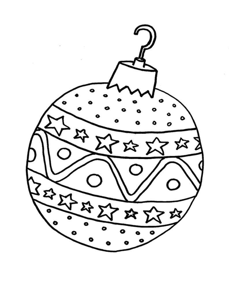 bolas de navidad para colorear originales buscar con google