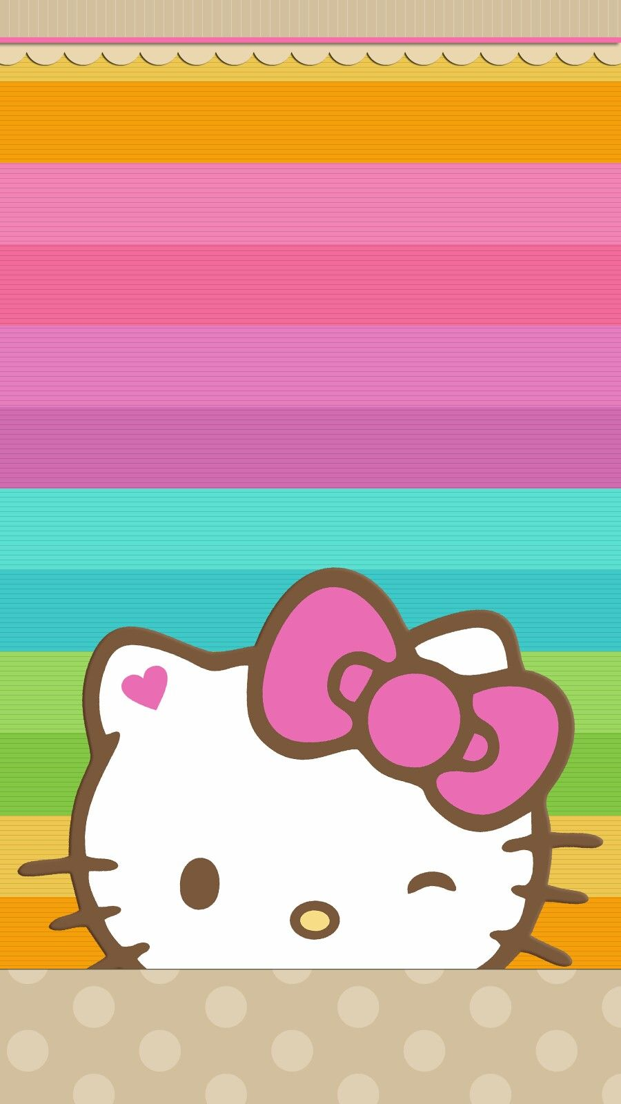 Hello Kitty Wallpaper Android Iphone Hello Kitty Iphone Wallpaper Hello Kitty Backgrounds Hello Kitty Pictures