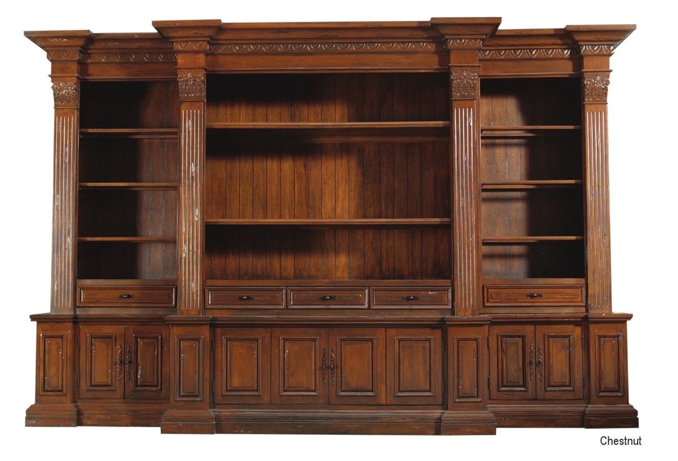 Marvelous Library Bookcase 112, Luxury High End Furniture