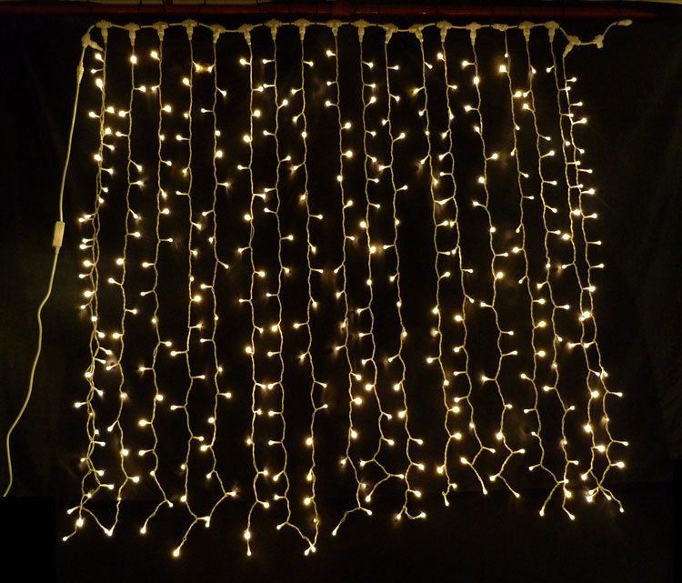 Warm White Led Curtain Light Ideal Wedding Backdrop Party Lights Fairy