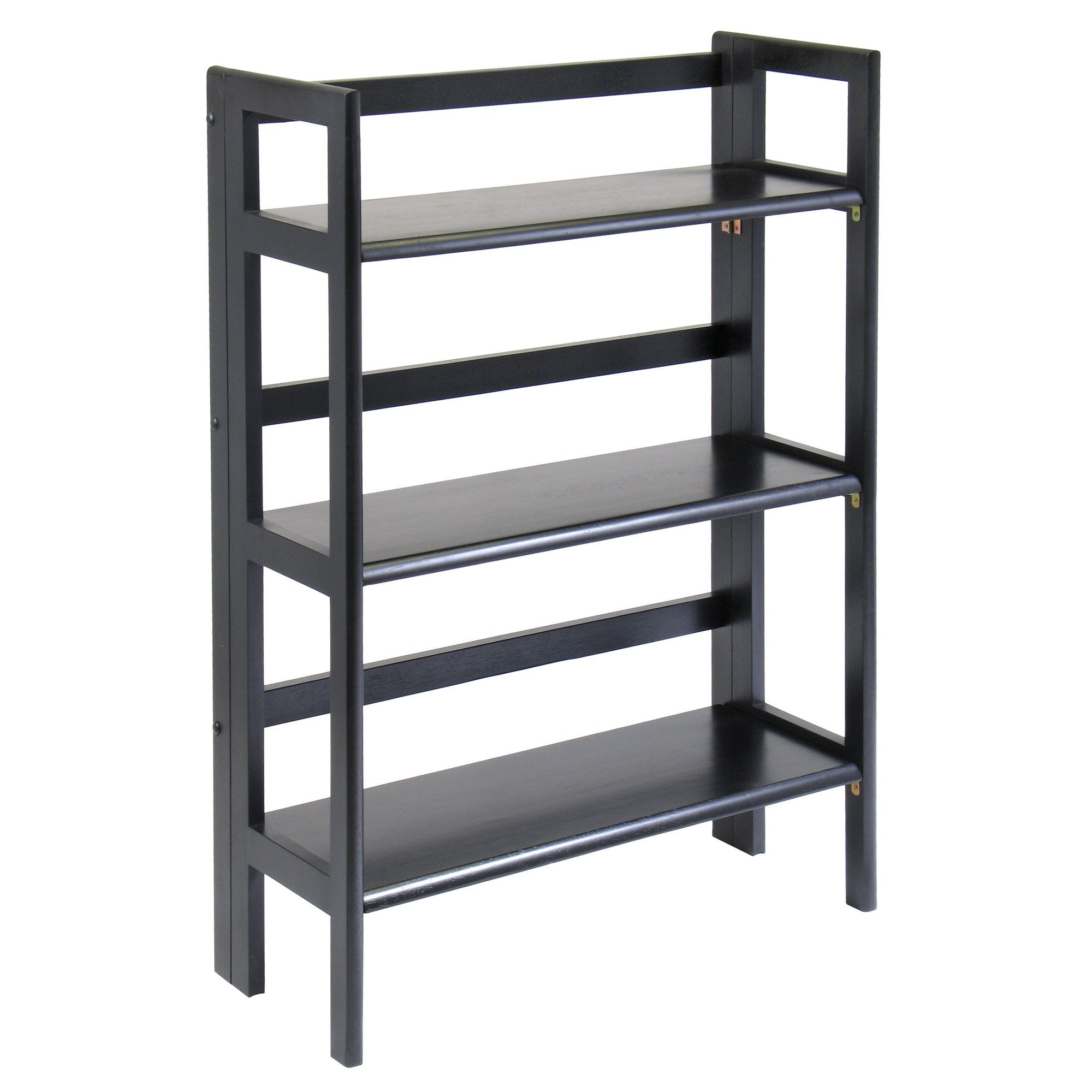 "Basics Folding 38.5"" Etagere Bookcase"