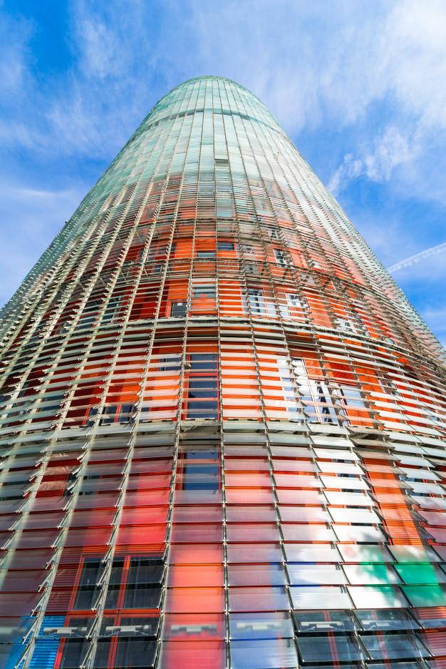 Freepik Graphic Resources For Everyone Modern Skyscrapers Skyscraper Blue Sky Background