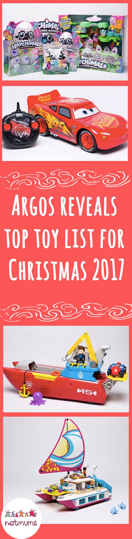 Argos Reveals Top Toy List For Christmas 2017 Netmums
