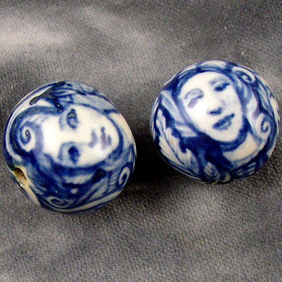 Beautiful Ceramic Beads!#form, #decorativetechnique