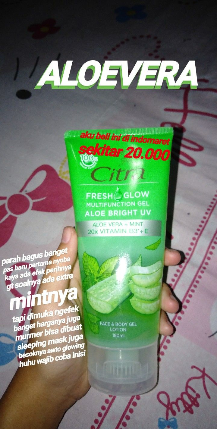 Manfaat Produk Aloe Vera Untuk Wajah Berjerawat