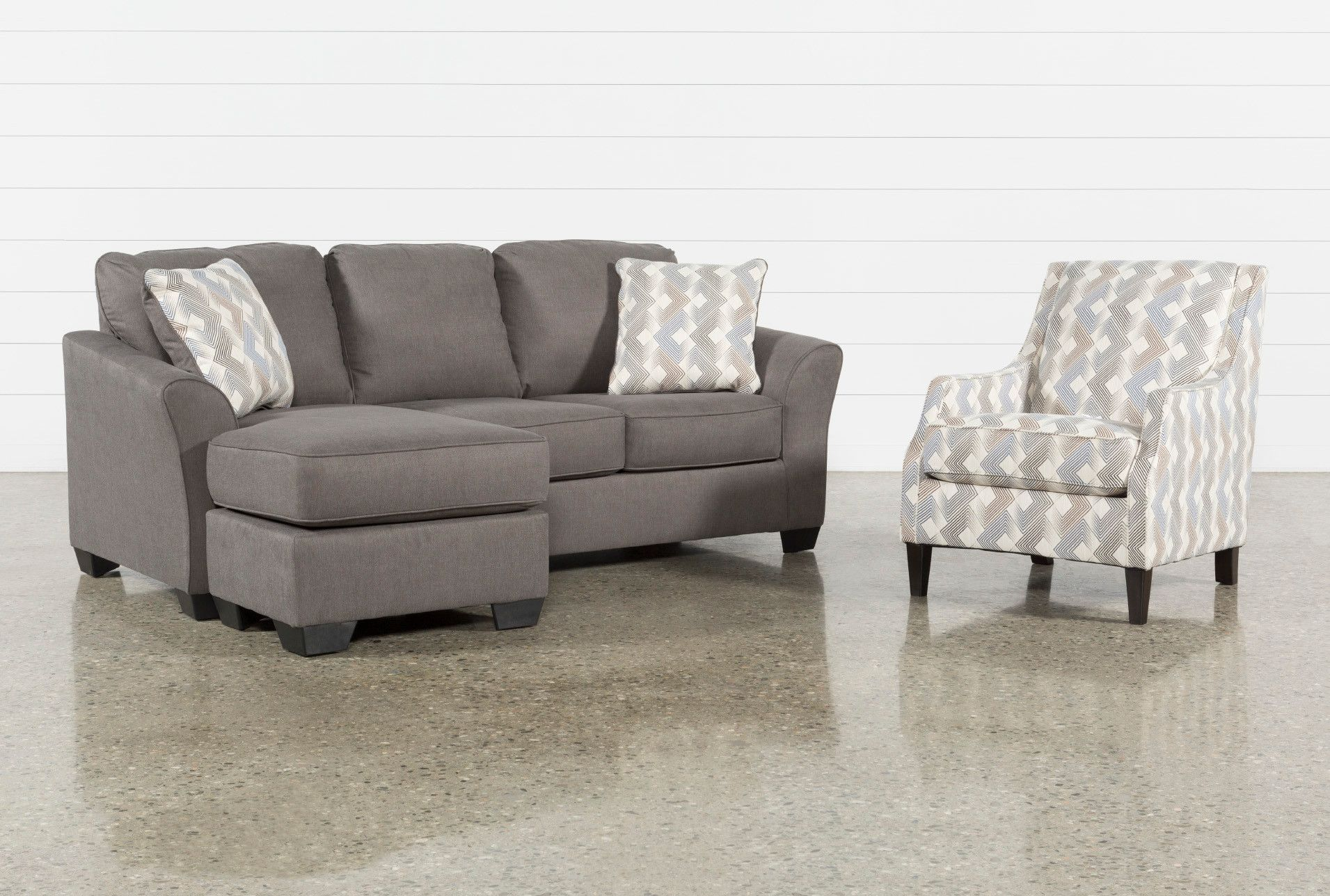 Tucker 2 Piece Living Room Set With Accent Chair Accent Chairs