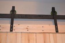 Barn Door Steel Hardware - Heavy Duty Skinny Rollers -