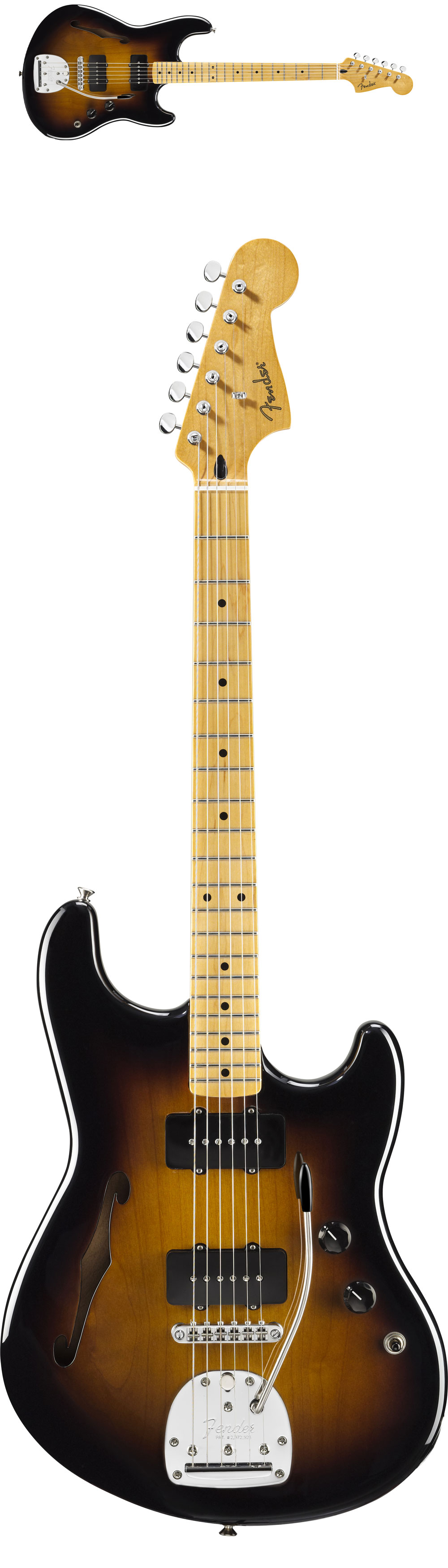 Fender Pawn Shop Offset Special Sunburst Maple