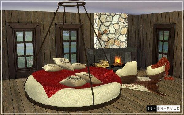 Simenapule Bedroom Set Hamal \u2022 Sims 4 Downloads Cc the sims