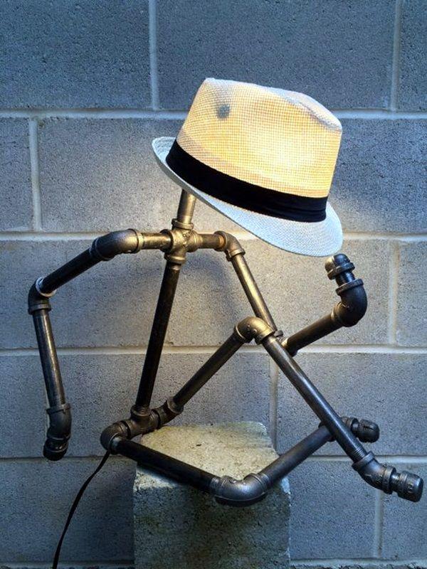 18 Ejemplos de lámparas caseras que son mejores que los productos - Lamparas Caseras