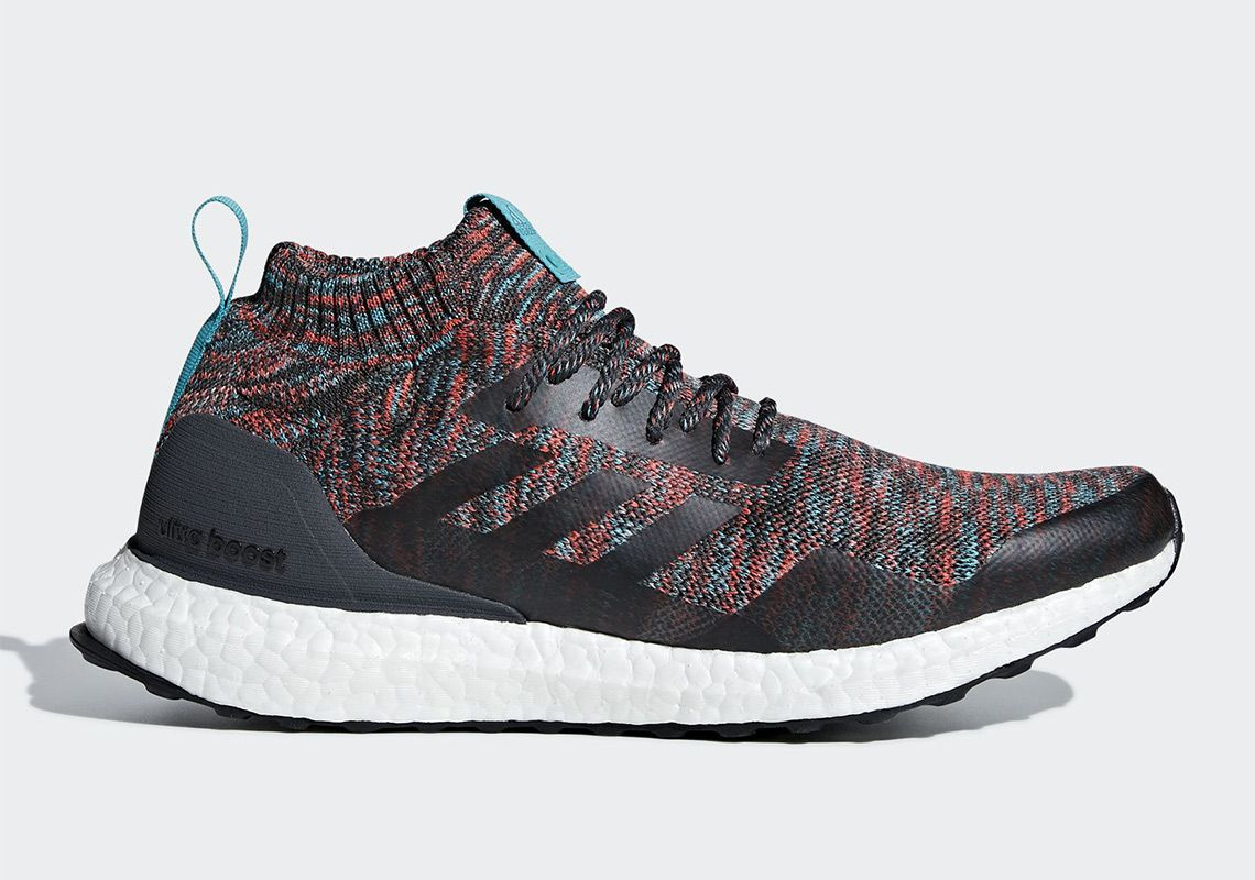 adidas Ultra Boost Mid Burgundy + Turquoise G26843 that DOPE