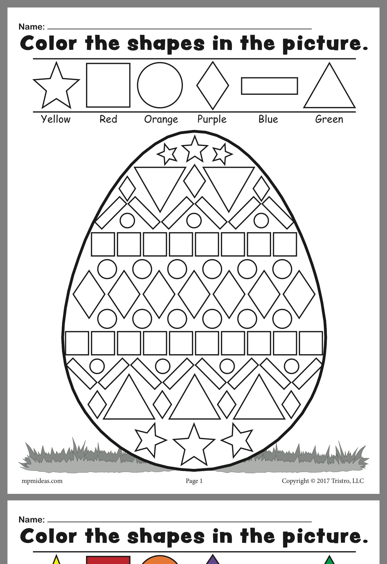 Pin by jenni leon on jenni loves yu Easter worksheets