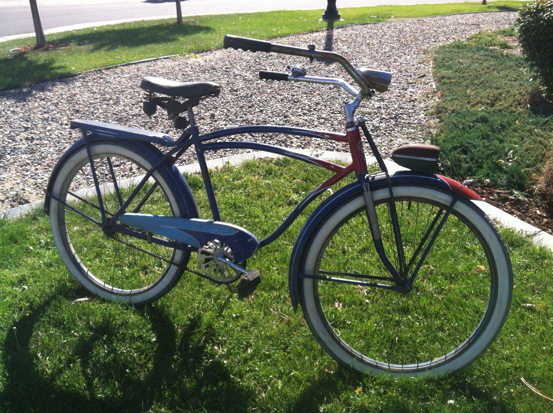 Vintage Schwinn Phantom Bicycle Deluxe Mens Pedal Blocks