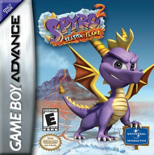 Spyro 2 Season Of Flame U Venom Rom For Gba Gameboy Nintendo Game Boy Advance Game Boy Advance